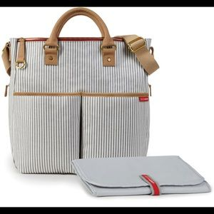 Skip Hop Special Edition Diaper Bag French Stripe